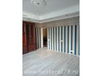 Ремонт гостиной - 46